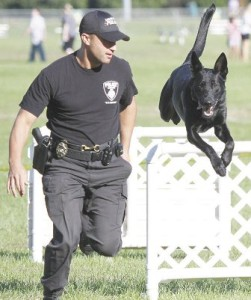 Haas and K9 Hunter